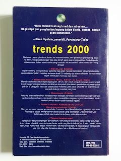 Trends 2000: Kiat Mempersiapkan dan Menarik Keuntungan dari Perubahan-perubahan Abad 21