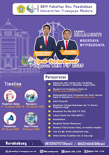 Open Recruitment BEM FIP Kabinet BRAJAMUSTI