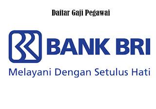 Gaji Pegawai Bank BRI semua posisi dan jabatan