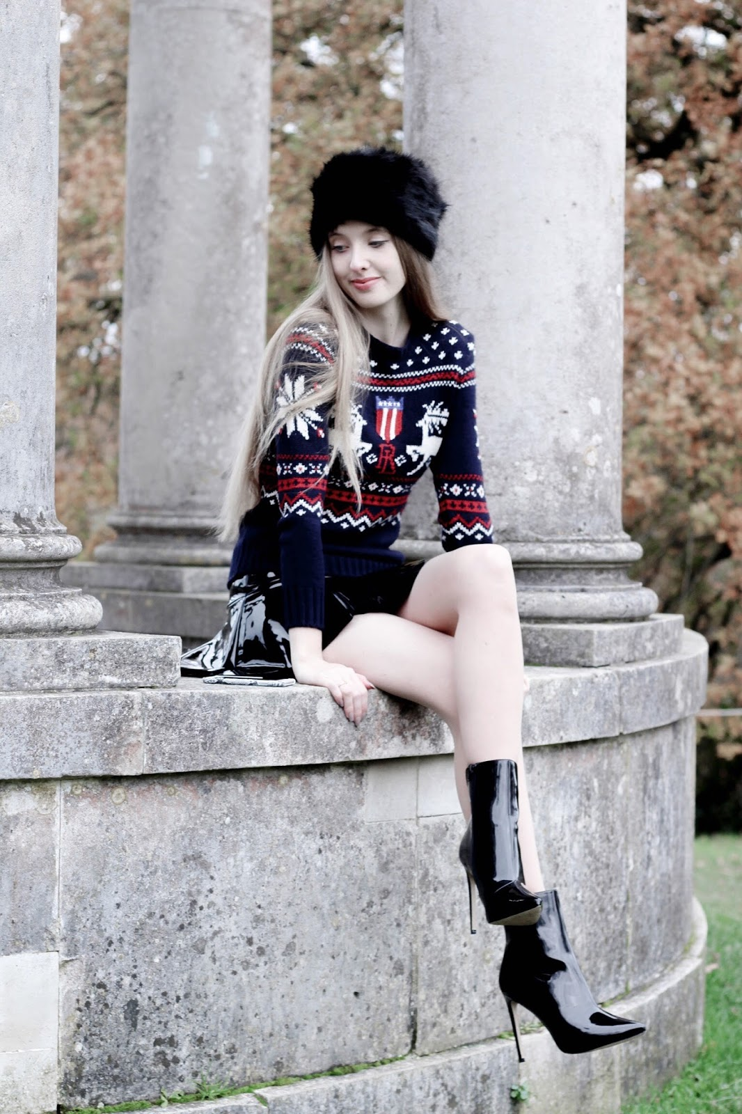 How to Style a Christmas Jumper Fashion Blogger