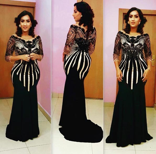 Check out actress Juliet Ibrahim's outfit at AMAA 2016