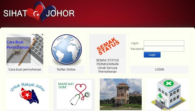 Semakan Status Permohonan Kad Sihat Johor 2021 Online