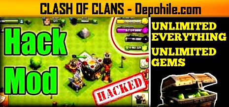 Clash of Clans 13.0.25 Kartos MEGA Mod Sınırsız Hileli APK 2020