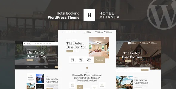 Best Hotel Booking WordPress Theme