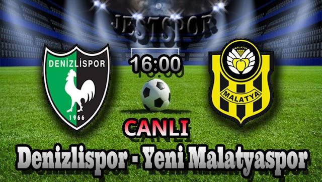 Denizlispor - Yeni Malatyaspor Jestspor izle