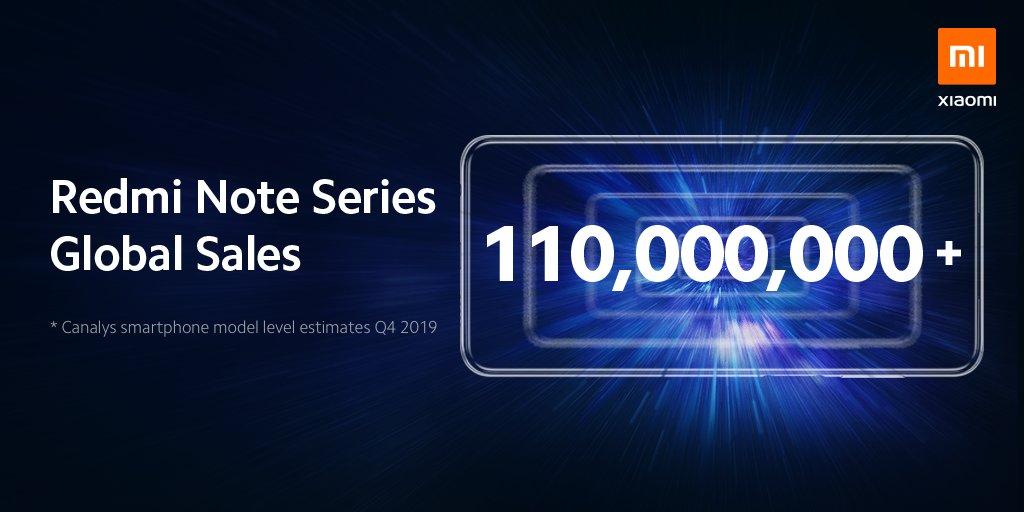Xiaomi: sono oltre 110 milioni i Redmi Note venduti