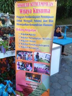 sekolah keterampilan UKM Pameran Pembangunan Daerah Kabupaten Sleman 2018