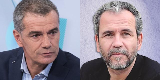 Toni Cantó y Guillermo Toledo