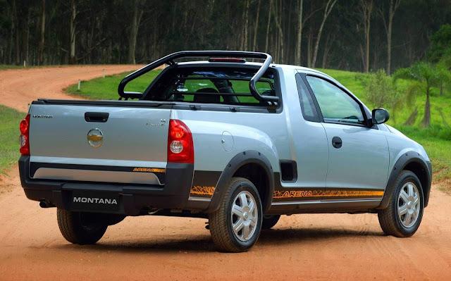 Chevrolet Montana 2009