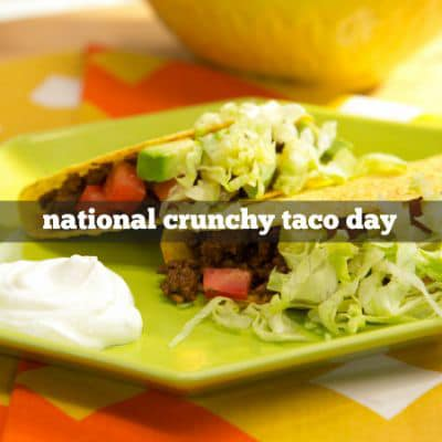 National Crunchy Taco Day Wishes Images