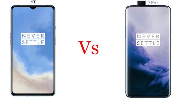 OnePlus 7T vs OnePlus 7 Pro Comparisons