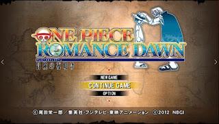 ONE PIECE ROMANCE DAWN  PARA CELULARES ANDROID E PC (PPSSPP)