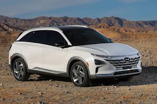 Hyundai Nexo (2018) Front Side