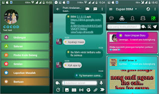 BBM Mod Full Color Theme V3.1.0.13 Apk