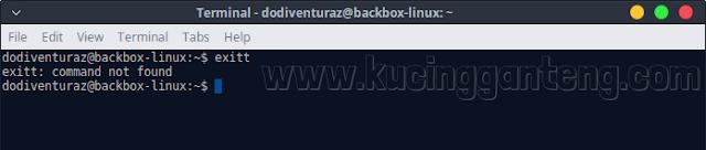 Cara Modifikasi Pesan Error Command Not Found di Terminal Linux