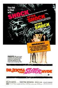 Dr Jeckyll and sister Hyde / Poster, un film de Roy Ward Baker