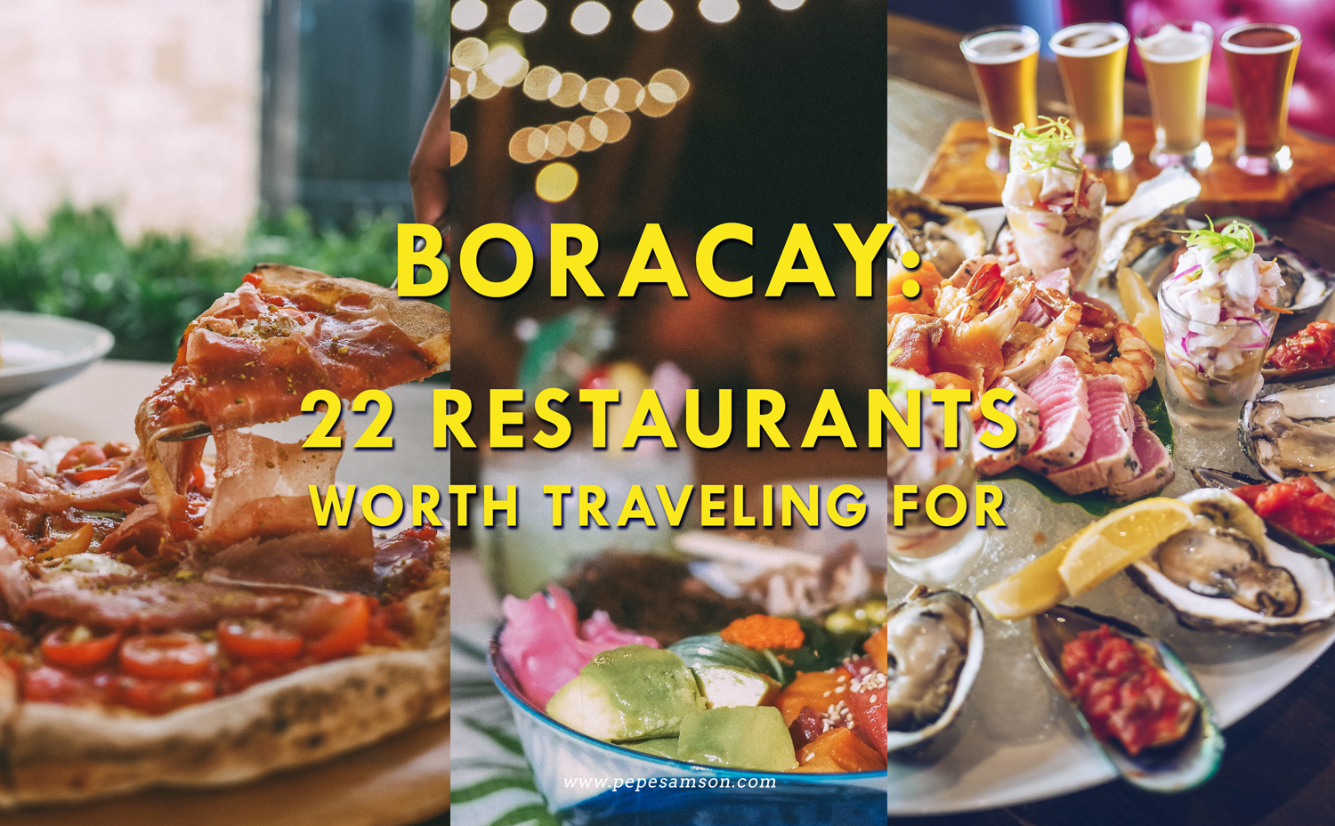 Boracay Food Trip: 22 Restaurants Worth Traveling For [UPDATED MARCH 2021]
