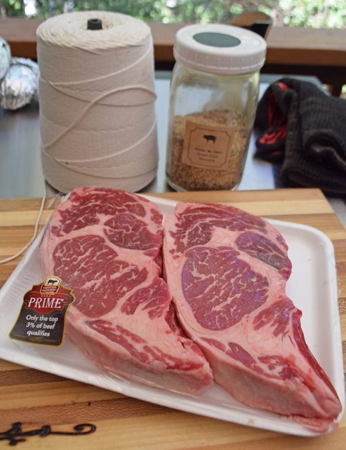 Certified Angus Beef Brand ribeye steaks from Food City on Morrell Road