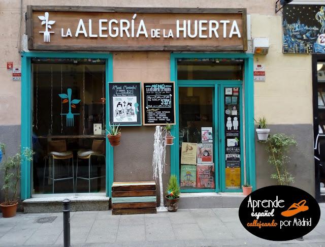 Aprende español callejeando por Madrid: La alegría de la huerta