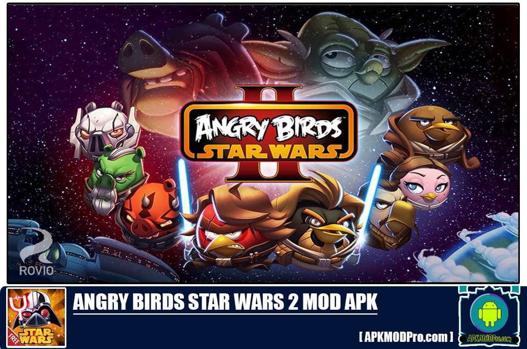 Download Angry Birds Star Wars 2 Mod apk