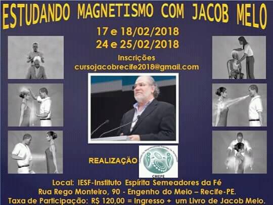 Curso com Jacob Melo em 2018