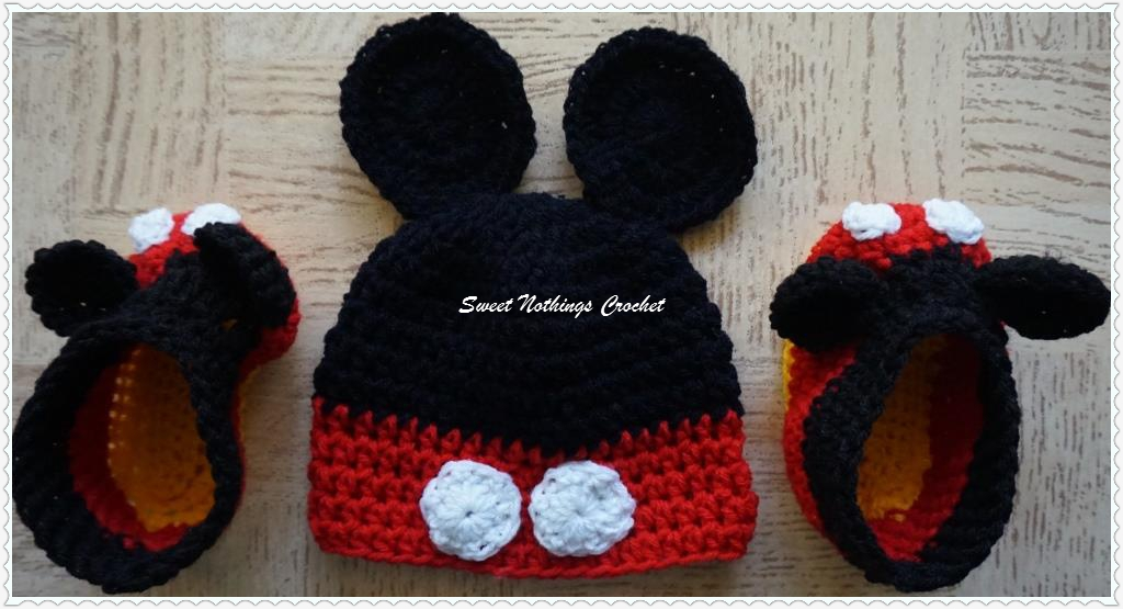 Sweet Nothings Crochet A Little Mouse Madness Mickey Mouse