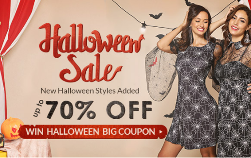 Halloween Sale - Rosegal