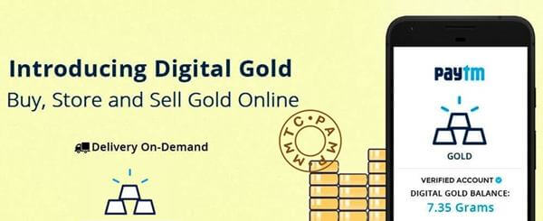 paytm gold digital gold