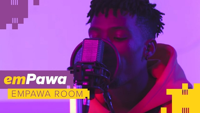 VIDEO: Joeboy – Beginning (Live at emPawa Room)