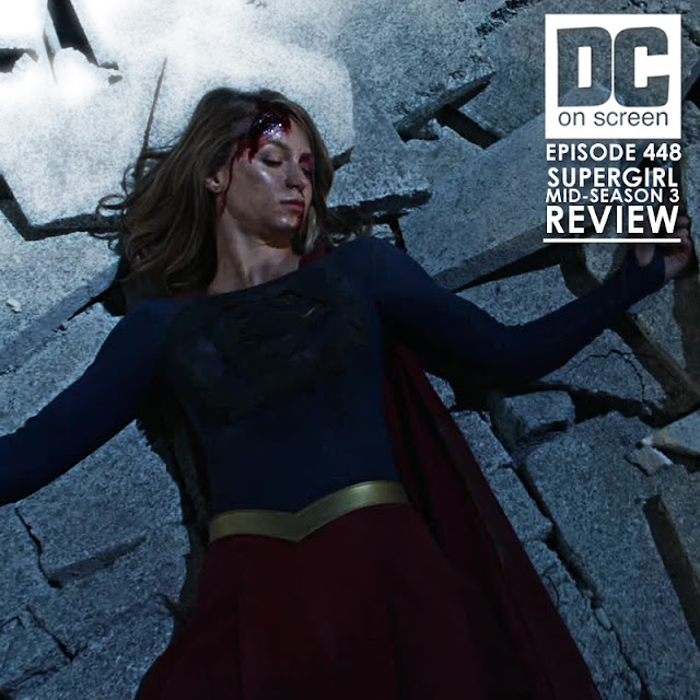 Supergirl, broken and beaten at the hands of Reign