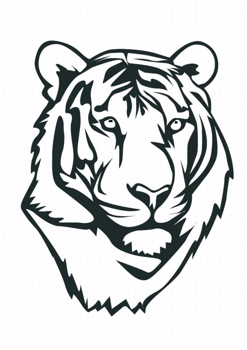 kleurplaten dieren tijger kleurplaten dieren tekeingen3