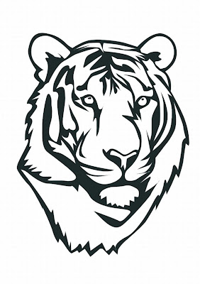 coloring pages of white tigers - photo#35