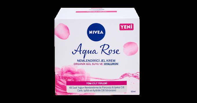 Organik Gül Suyu İçeren Yeni NIVEA Aqua Rose Bakım Serisi!