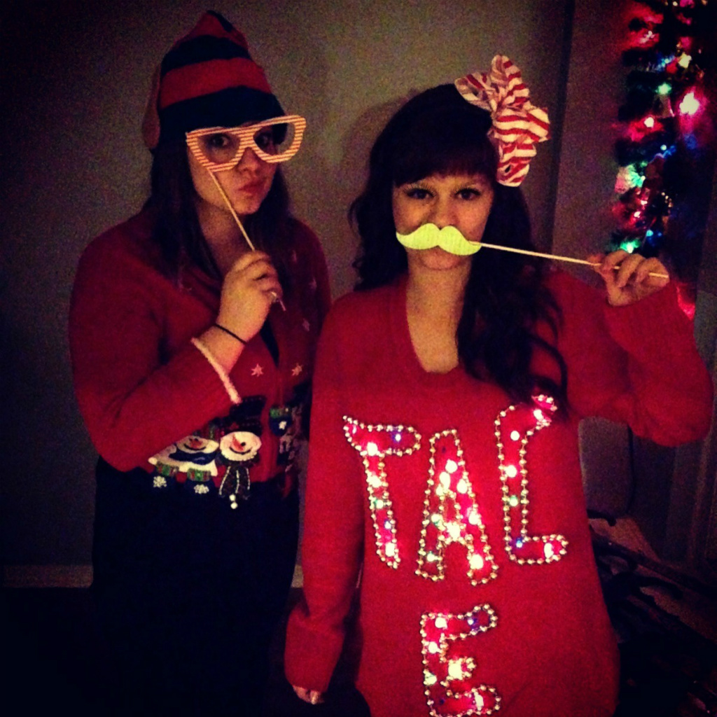 Make light up christmas sweater