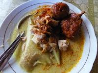 Opor Ayam Gulai Nangka