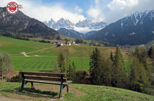 Val di Funes, Dolomitas, Italia