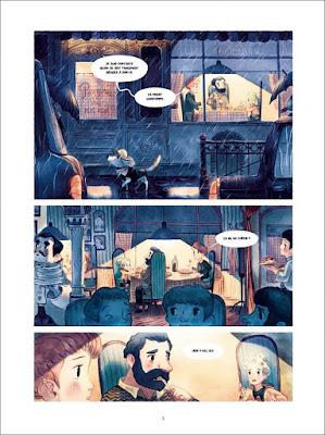 """page de """"L'épouvantable peur d'Epiphanie Frayeur T2, le temps perdu"""" de Célment Lefèvre et Séverine Gauthier chez Soleil"""