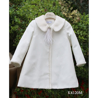 modern baptismal coat for girls