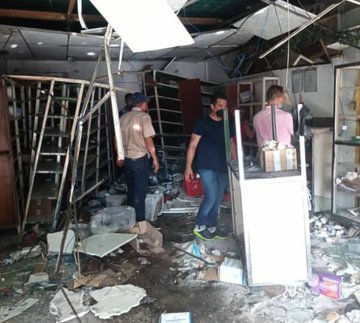 Sobrino ebrio de un alcalde chavista se mató al chocar su Corolla contra una farmacia de Trujillo