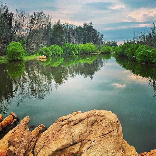 khu du lịch biển xanh Hồ Cốc