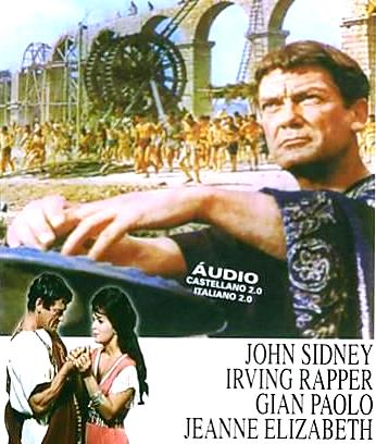 Imagen de Poncio Pilato en portada de película
