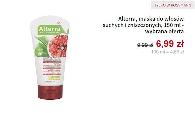 Alterra - Maska do włosów