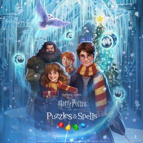 Harry Potter: Puzzles & Spells recebe as festas de fim de ano com evento de coleta com tema natalino, nova criatura mágica e surpresas sociais durante todo o mês de dezembro