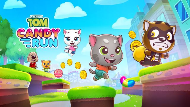 Talking Tom Candy Run v1.0 NSP XCI For Nintendo Switch