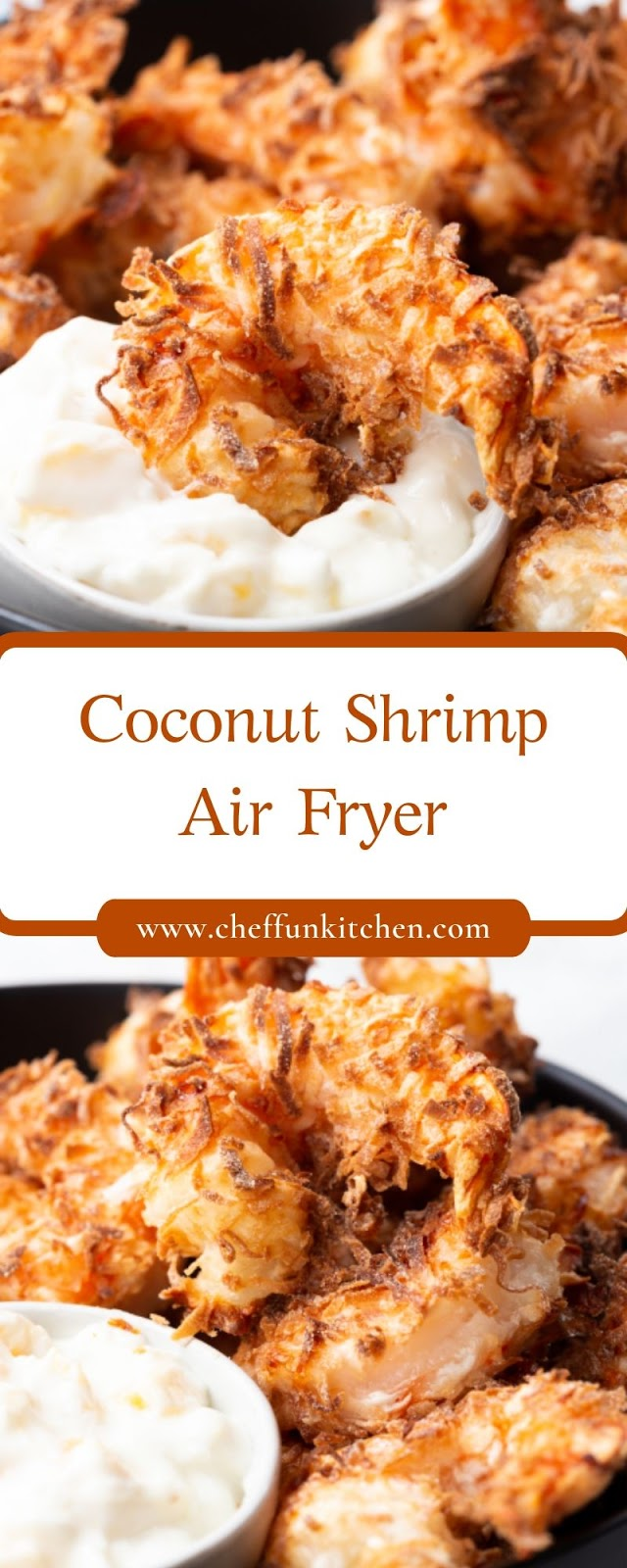Coconut Shrimp – Air Fryer