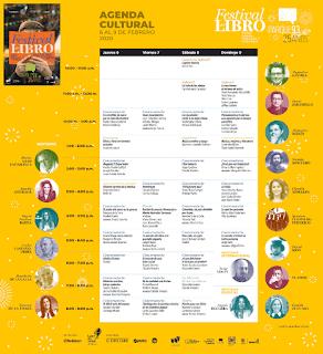 PROGRAMACIÓN Festival del Libro PARQUE 93 Bogotá 2020