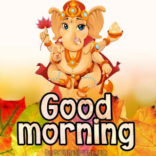 good morning cute ganesh ji hd images