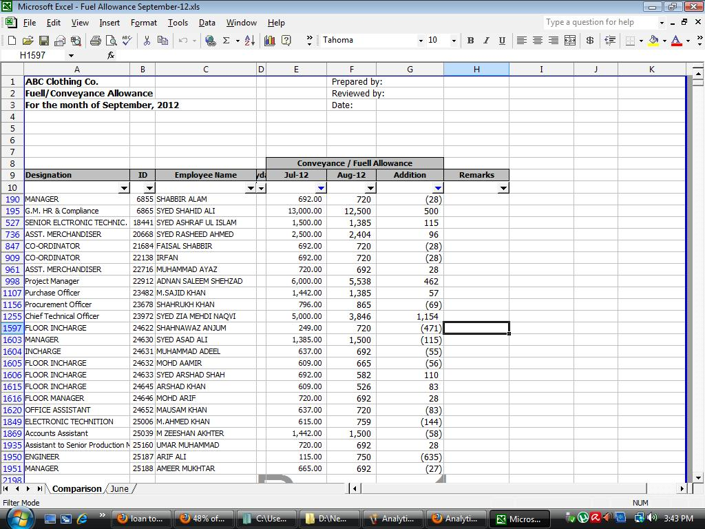 Download Free Internal Audit Working Papers Payroll Audit
