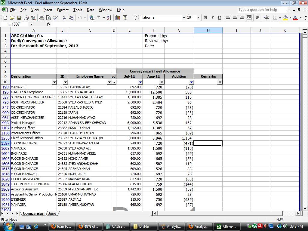 Sample internal audit work papers excel images for Audit workpaper template
