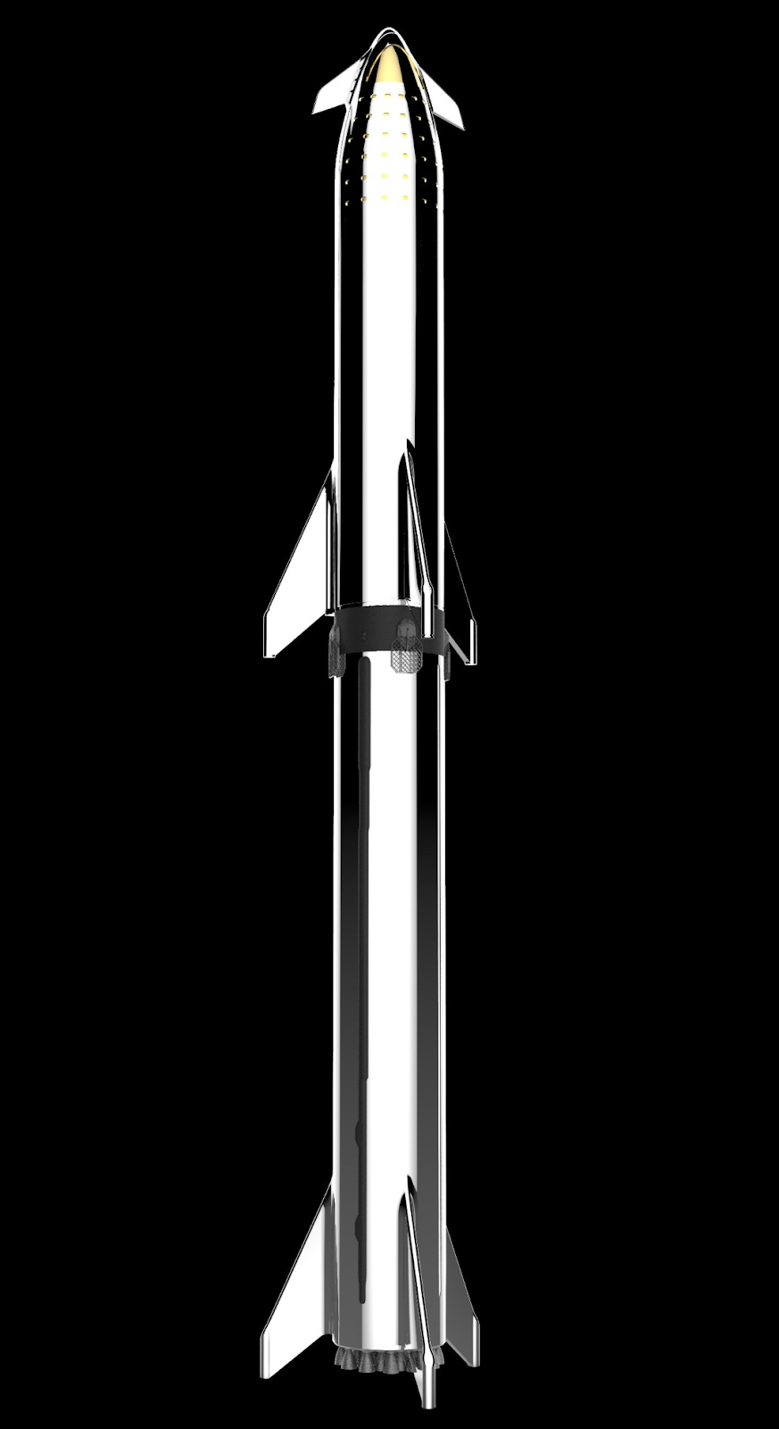 SpaceX Starship + Super Heavy block 1 mobile wallpaper by Reese Wilson